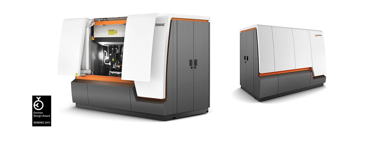 Industriedesign für Lasermaschine mit Design Award ausgezeichnet