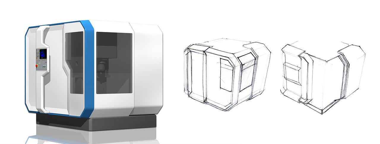 Maschinengehäuse Entwicklung Gestaltungsmerkmale