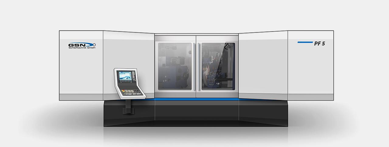 Designentwurf für Maschinendesign Variante 01