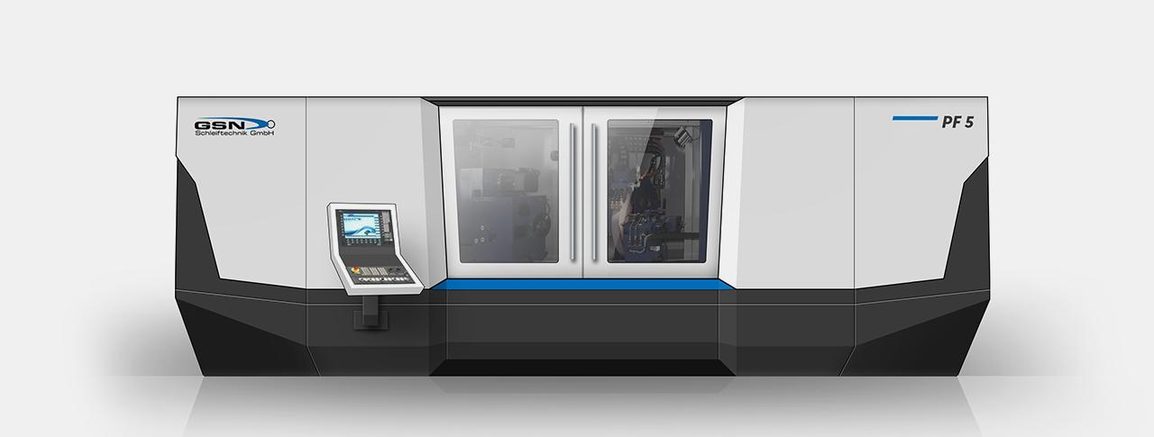 Designentwurf für Maschinendesign Variante 02