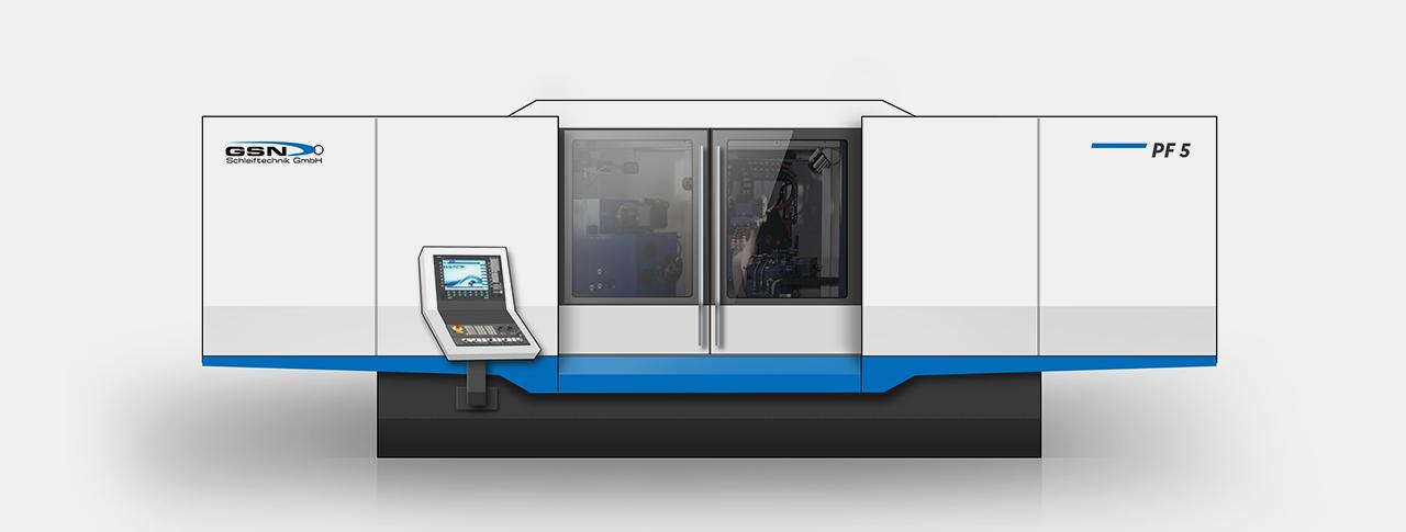 Designentwurf für Maschinendesign Variante 03