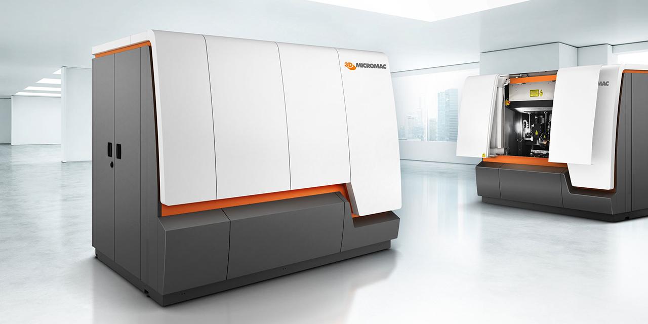 Industriedesign für Lasermaschine MicroStruct